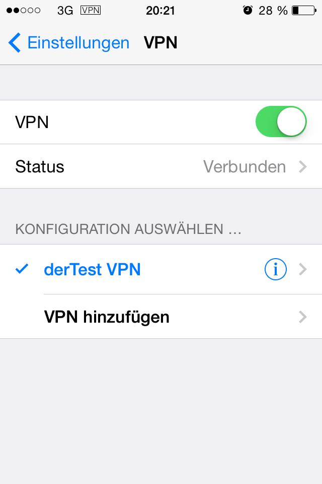 VPN testen