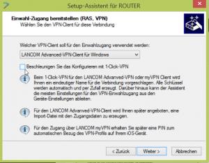 1-Click-VPN deaktivieren