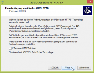 IPSec-over-HTTPS nicht aktivieren