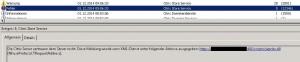 Citrix Store Service Fehler