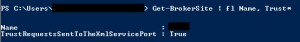 Trust XML Serivce BrokerSite