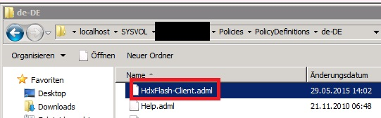 Citrix Receiver ADML PolicyDefinitions