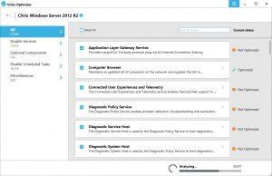Citrix Optimizer Server 2012R2