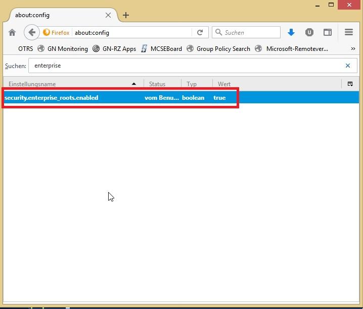 Windows Zertifikatsspeicher unter Firefox nutzen - Jan's Cloud -