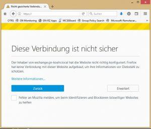 Firefox Windows_Zertifikatsspeicher