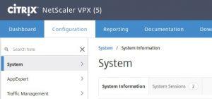 Vorher: Netscaler VPX Express 5