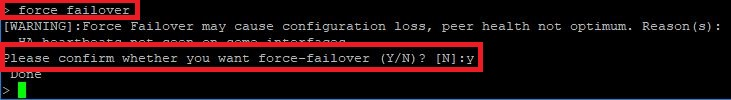 Netscaler Update force failover