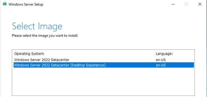 Windows Server 20222